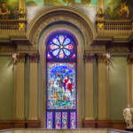 philadelphia pennsylvania masonic temple stained glass