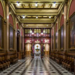 philadelphia pennsylvania masonic temple first floor hallway