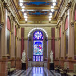 philadelphia pennsylvania masonic temple hallway