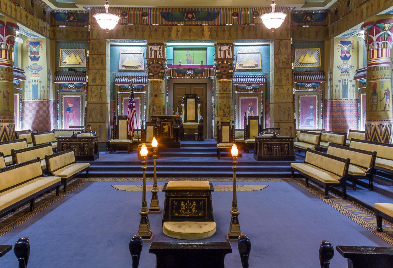 philadelphia pennsylvania masonic temple egyptian hall