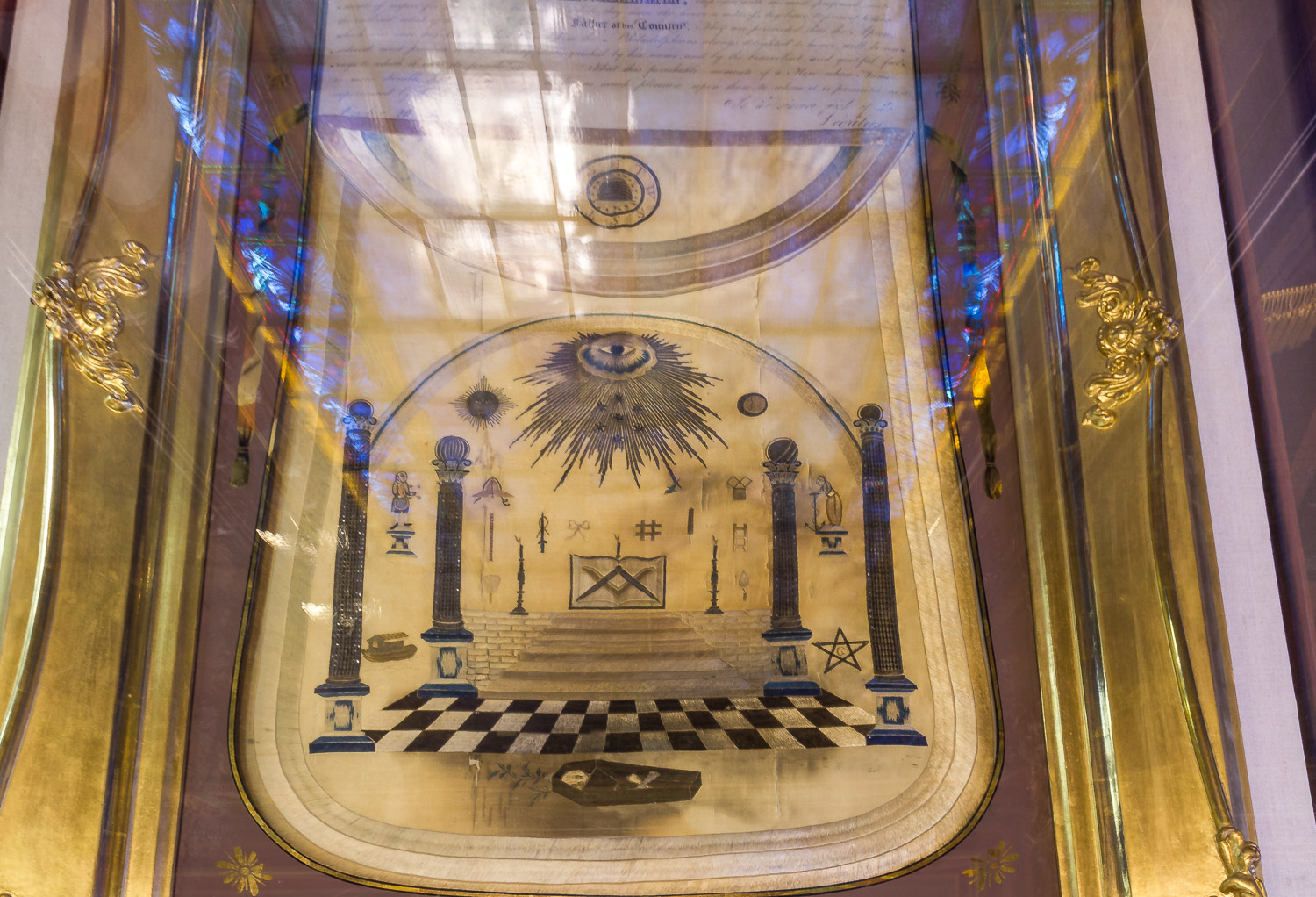 philadelphia pennsylvania masonic temple george washington masonic apron