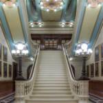 philadelphia pennsylvania masonic temple stairwell