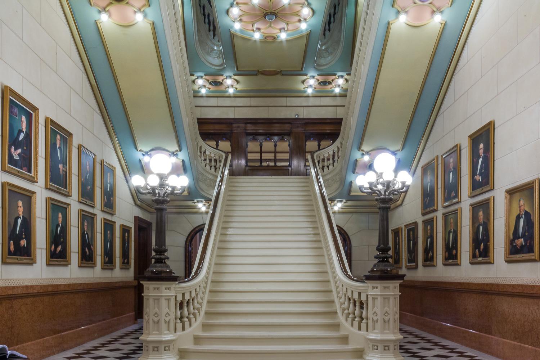 Masonic Temple stairway