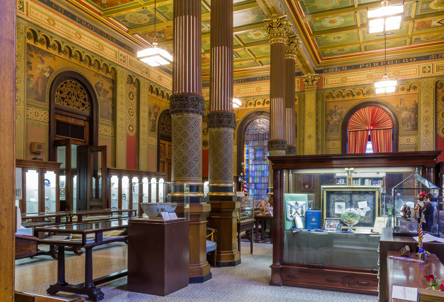 philadelphia pennsylvania masonic temple library and museum