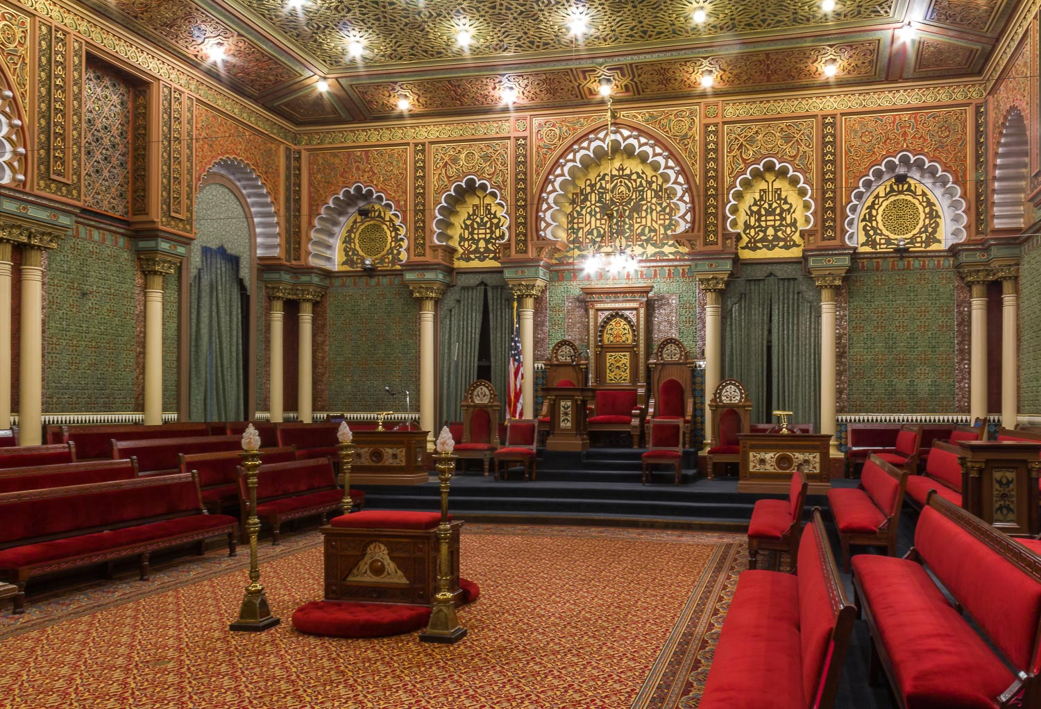 philadelphia pennsylvania masonic temple oriental hall