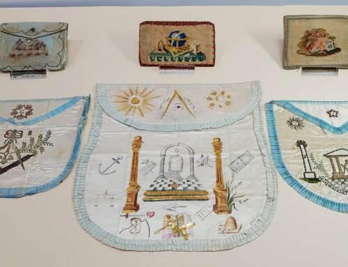 Masonic Aprons & Pouches